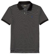 Ralph Lauren Boys' Stretch Lisle Striped Polo Shirt - Big Kid