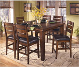 Signature Design by Ashley Larchmont Counter-Height Dining Table with Leaf