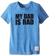 The Original Retro Brand Kids My Dad is Rad Tri-Blend Tee (Little Kids/Big Kids)