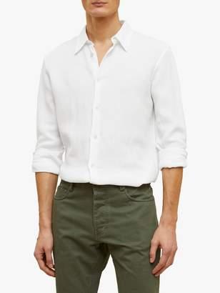 Jigsaw Thomas Linen Cotton Waffle Shirt