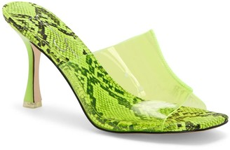 Jessica Simpson Olena Transparent Slide Sandal