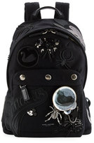 Marc Jacobs Rummage Embellished Backpack, Black