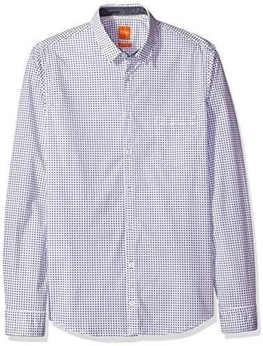 19d81de2f Hugo Boss Slim Fit Button Down Shirt - ShopStyle