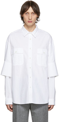 J.W.Anderson White Double Cuffs Shirt
