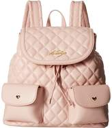 Love Moschino Quilted Backpack Backpack Bags