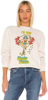 Junk Food Clothing I'm Your Wonder Woman Sweatshirt