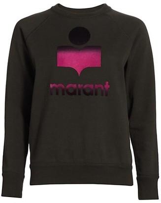 Etoile Isabel Marant Moby Ombre Logo Sweatshirt
