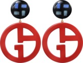 Giorgio Armani Logo Earrings