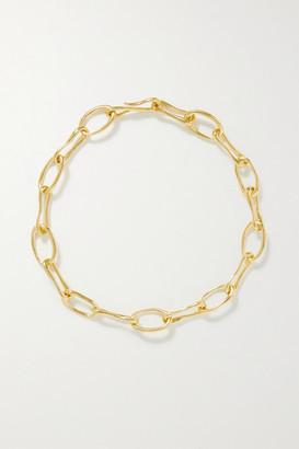 Sophie Buhai Net Sustain Roman Gold Vermeil Necklace
