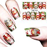 Binmer(TM) Nail Art Stamper Gel Tips DIY Stamping Drawing Image Template Stickers (W)