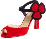 Christian Louboutin Pansy Flower Strap Sandal