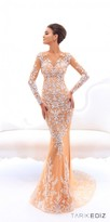 Tarik Ediz Valetta Evening Dress