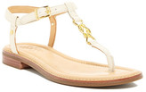 Sperry Gold T-Strap Sandal