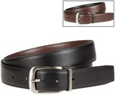 Bill Adler Reversible Feather-Edge Leather Belt - 32mm (For Men)