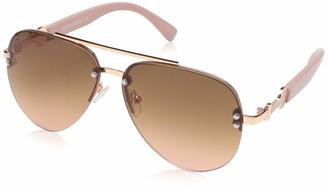 Rocawear Women's R3295 Rgdrs Non-Polarized Iridium Aviator Sunglasses