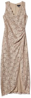 Jessica Howard JessicaHoward Women's Sleeveless Dress with Wrap Skirt