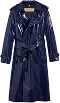 Burberry laminated trench coat