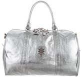 Thomas Wylde Metallic Weekender Bag