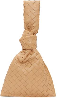 Bottega Veneta Beige Intrecciato The Mini Twist Pouch
