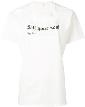 R 13 'Sell your soul' T-shirt