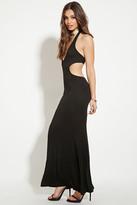 Forever 21 FOREVER 21+ Halter Maxi Dress