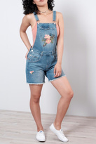 Only Embroidered Short Overall