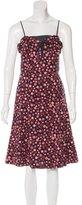 Marc Jacobs Polka Dot Print Sleeveless Dress