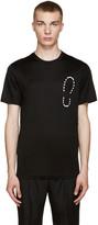 Lanvin Black Shoe Print T-Shirt