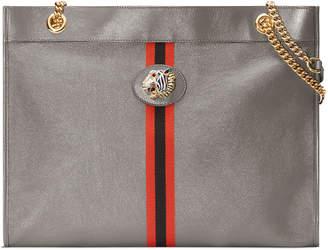 Gucci Rajah Large Leather Tote Bag