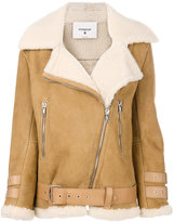 Dondup lamb skin jacket - women - Lamb Skin - 42