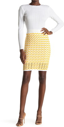 BCBGeneration Sweater Bodycon Mini Skirt