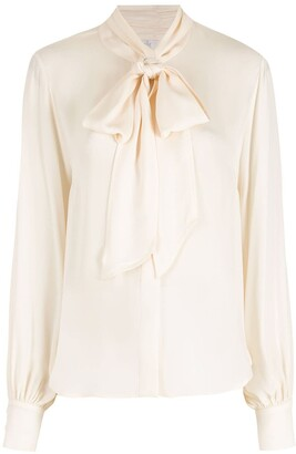 Nk Tied Silk Shirt