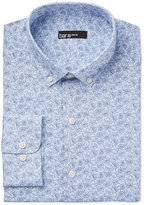 Bar III Men's Slim-Fit Light Blue Floral Dress Shirt, Only at Macy's