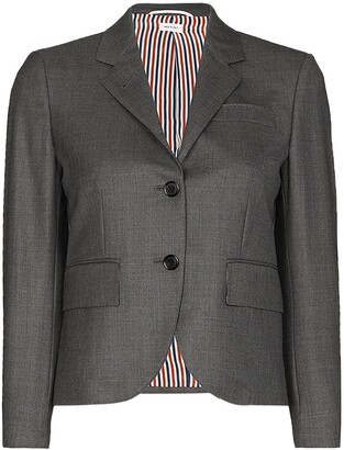 Thom Browne Classic Single Breasted Sport Coat In Super 120S Twill