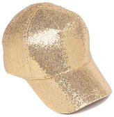 ChicHeadwear Womens Fashion Glitter Baseball Cap