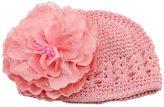 Orangesky Baby Girl Flower Lace Headband Hat