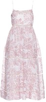 Zimmermann Roza cotton and silk-blend dress