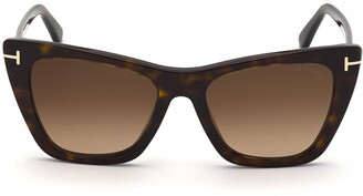 Tom Ford Poppy 53mm Cat Eye Sunglasses