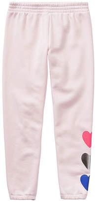 Xersion Girls Cotton Fleece Cinched Jogger Pant - Preschool / Big Kid