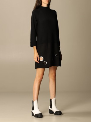 Boutique Moschino Dress Moschino Boutique Dress With Maxi Eyelets