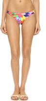 Mara Hoffman Fractals Low Rise Bikini Bottoms