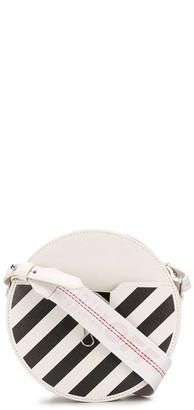 Off-White Diag round-shaped shoulder bag