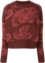 AllSaints floral printed jumper