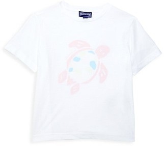 Vilebrequin Little Girl's & Girl's Turtle-Print T-Shirt