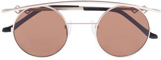 Karen Wazen Round-Frame Sunglasses