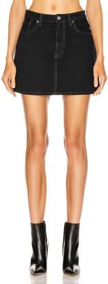 Acne Studios Bla Konst Marika Overdye Skirt in Black | FWRD