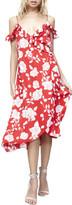 MinkPink MP x Disney Enchanted Rose Midi Wrap Dress