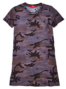 Aqua Girls' Camo T-Shirt Dress, Big Kid - 100% Exclusive