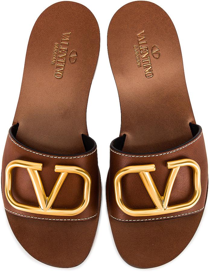 Australia Shopstyle Sandals Rubber Valentino Heel For Wnn8vm0 Women sQdrCth