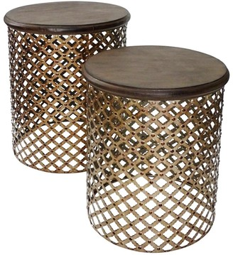 Searles Cosala Side Tables Set/2